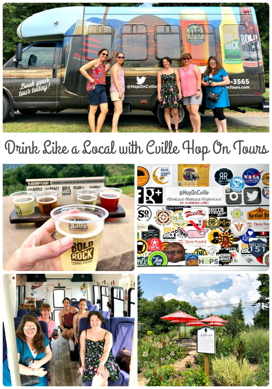 Drink Like a Local in Charlottesville, Virginia with Cville Hop On Tours