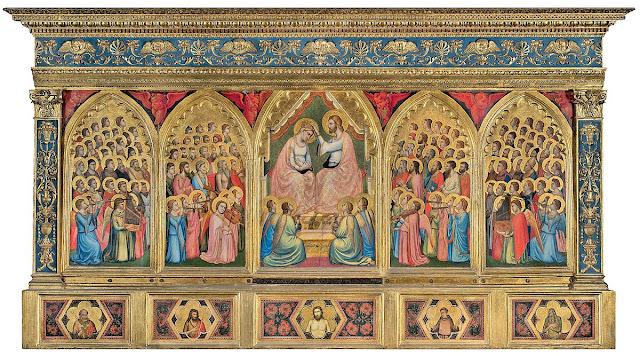 Giotto - Políptico Baroncelli (1328)