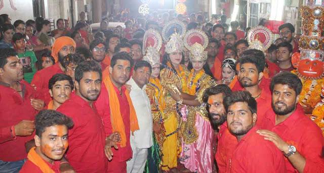 Shriram Hanuman Mandir, Leiyya Bharati old Faridabad
