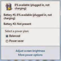 Battery Plugged in Not Charging pada Netbook dan Cara Mengatasinya