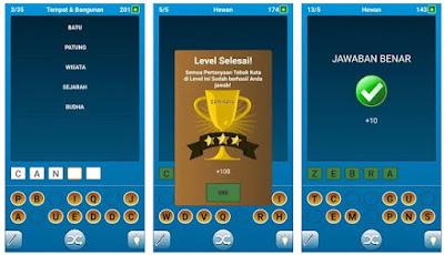 Game tebak kata indonesia adalah game bergenre word atau puzzle yang menuntut anda untuk m Game tebak kata indonesia seru, gratis dan bisa dimainkan secara offline