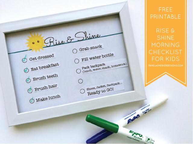 back to school, checklist, kids duties