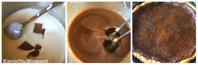 tart, bitter çikolata, labne peyniri, milföy, milföy hamuru, Tarifi