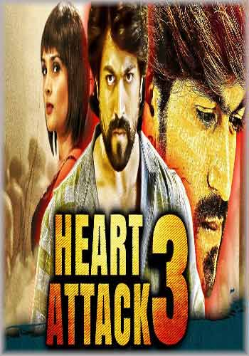 Heart Attack 3-Lucky 2018 Hindi Dubbed 720p HDRip