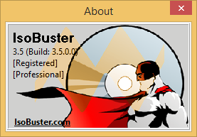 IsoBuster Pro 3.5