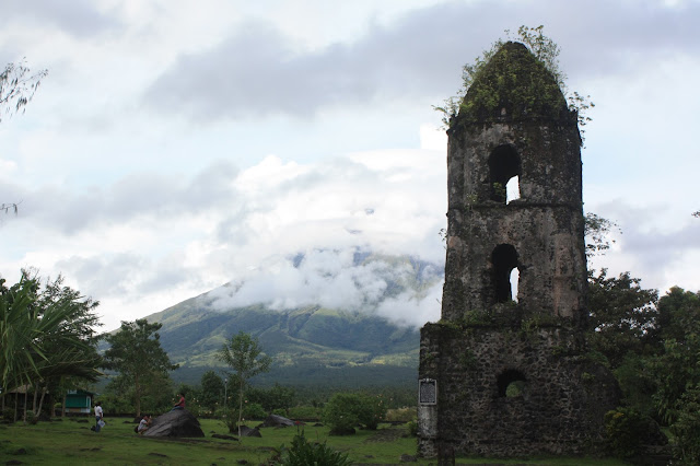Cagsawa Ruins in Albay, Bicol
