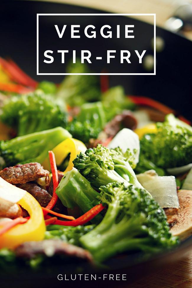 how to add frozen veggies to stir fry