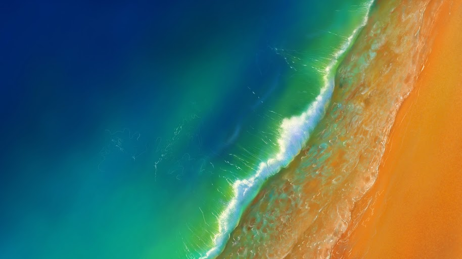Ocean, Beach, Waves, Scenery, 4K, #183