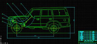 thiết kế hệ thống lái xe du lịch