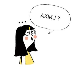 Apa itu AKMJ ? Arti kata AKMJ di facebook, ig, wa, medsos, dll