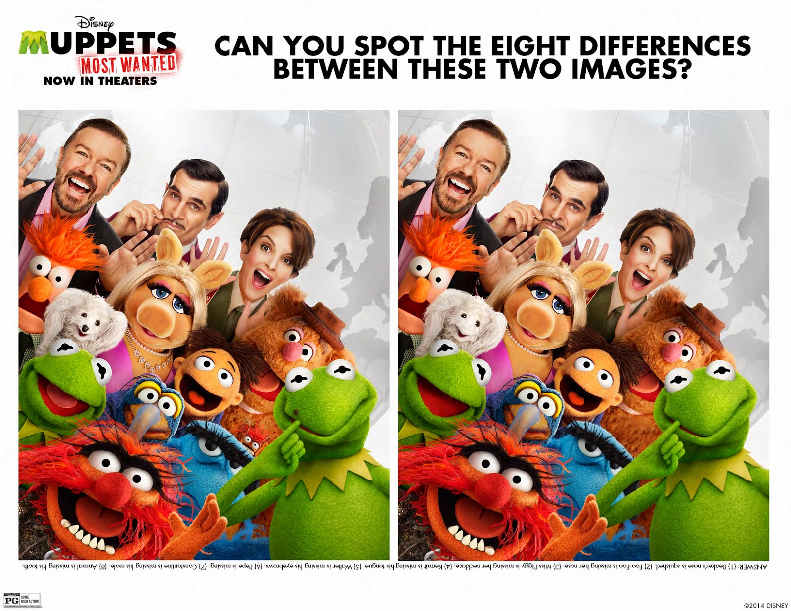 Muppet Stuff Tax Day Freebie Most Wanted Activities Sheets