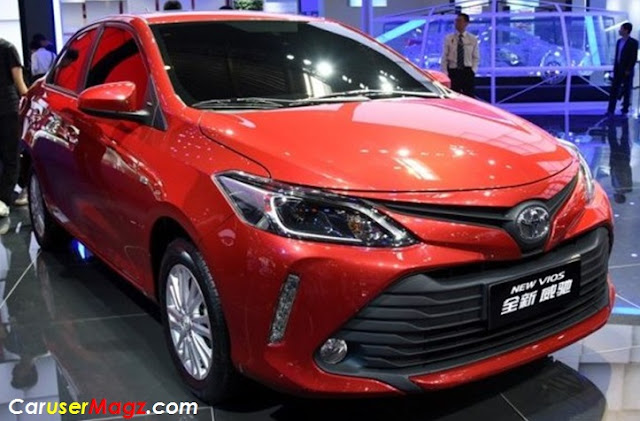 Toyota Vios Facelift 2016