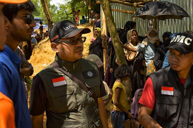 Andar Nubowo Presdir Lazismu dari Kamp Pengungsian Muslim Rohingya