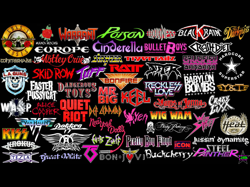 New Wave of Thrash Metal: Design and thrash metal logos |Thrash Metal Band Logos