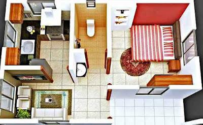 Desain Rumah Minimalis yang Bagus untuk Denah