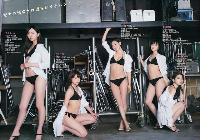 Hot girls Sexy Japan Singers idol Hkt48 7