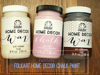 folk art home decor wax review