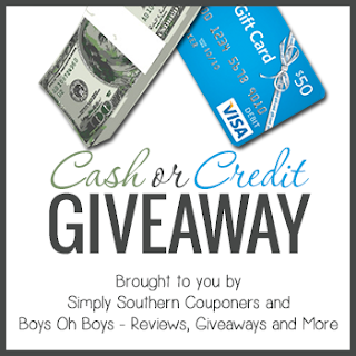 Cash or Credit Giveaway Button