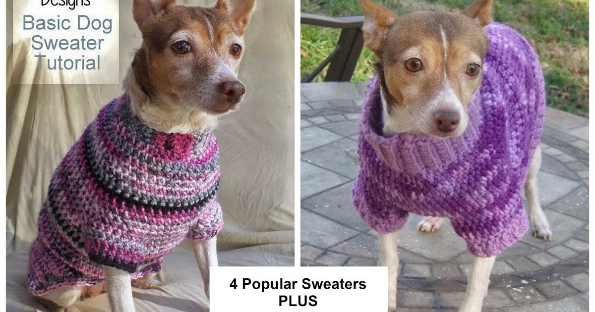 Jenna Wingate Designs Custom Fit Dog Sweater Ebook