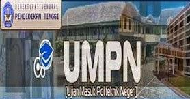 INFO PENDAFTARAN UMPN 2017-2018 ( UJIAN MASUK BERSAMA POLITEKNIK ) DI INDONESIA