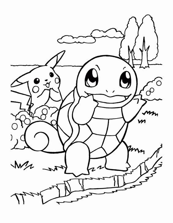 Tranh tô màu Pokemon 22