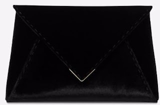 Tyler Ellis Black Clutch Bag