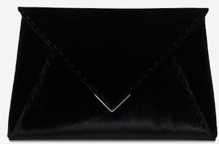 Tyler Ellis Black Clutch Bag