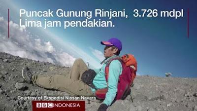 Willem Siregar 5 Pendaki Gunung Indonesia yang Unik dan Inspiratif