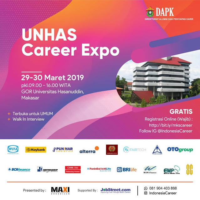 Job Fair Makassar 2019