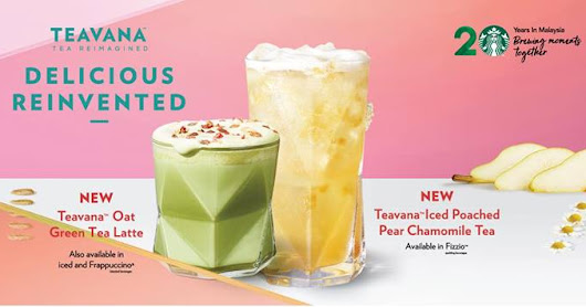 Starbucks Chinese New Year Teavana selection