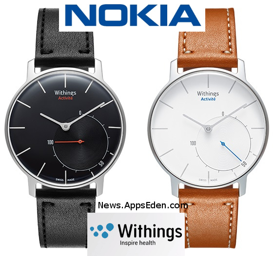 NOKIA acquires French health gadget maker Withings for €170 (EUR) million