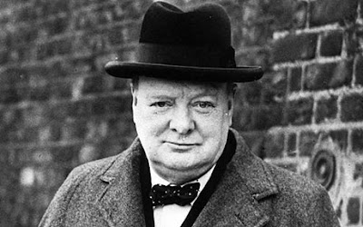 Winston Churchill who never give up, or who changed the history of England