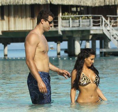Amazing Information: Kim Kardashian with her husband Kris ...