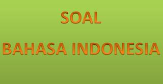 soal bahasa indonesia sd kelas 1 sd