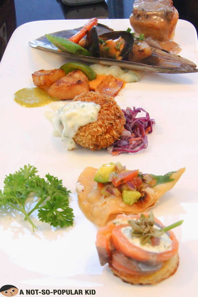Appetizer and Main Course Samples - Vikings Buffet SM Megamall