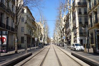 Avenida Longchamp, Marsella.