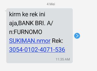 alamat pengaduan sms penipuan
