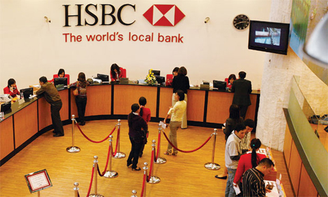Các khoản vay mua nhà, thế chấp nhà đất vay vốn ngân hàng HSBC năm 2016