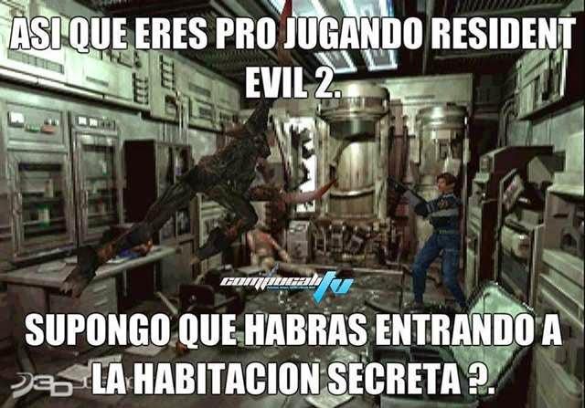 Habitación secreta de Resident Evil 2 ¿La Descubriste?