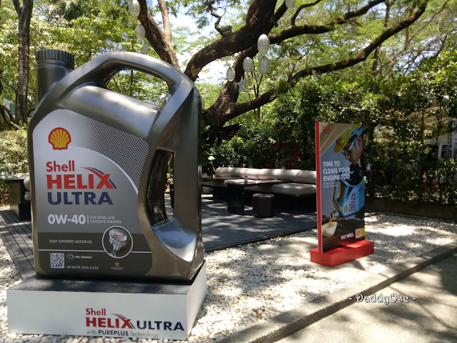 Shell Helix Ultra OW-40