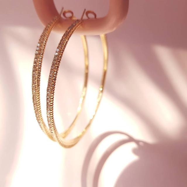Dijual perhiasan imitasi impor keren berkualitas KWANG EARRING, Toko Online Jakarta