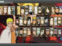 Download Game Naruto Senki MOD Shinobi Revolution Full Character Apk Android Terbaru