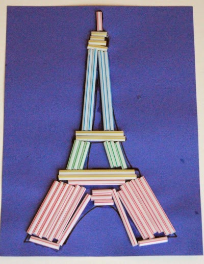 Eiffel Tower Craft for Kids