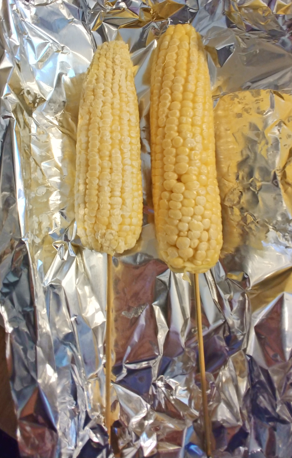 making elote