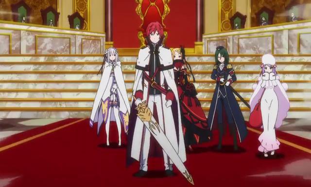 Ahli pedang di anime rezero reinhard