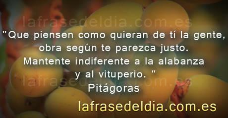 Citas para compartir de Pitágoras