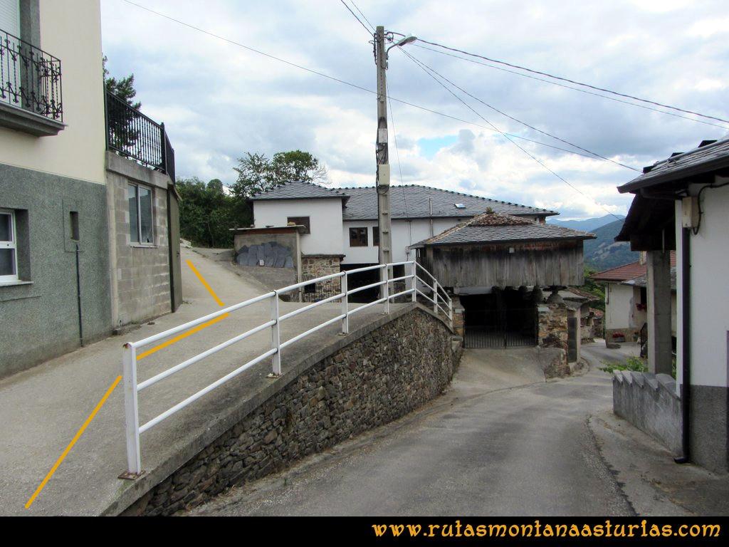 Ruta Cangas - Acebo: Curriellos