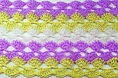 2 - Crochet IMAGEN Puntada a crochet y ganchillo para primavera muy facil y rapido. MAJOVEL CROCHET