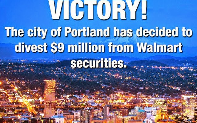 Oil-Electric Portland Tosses WalMart Under the Bus!