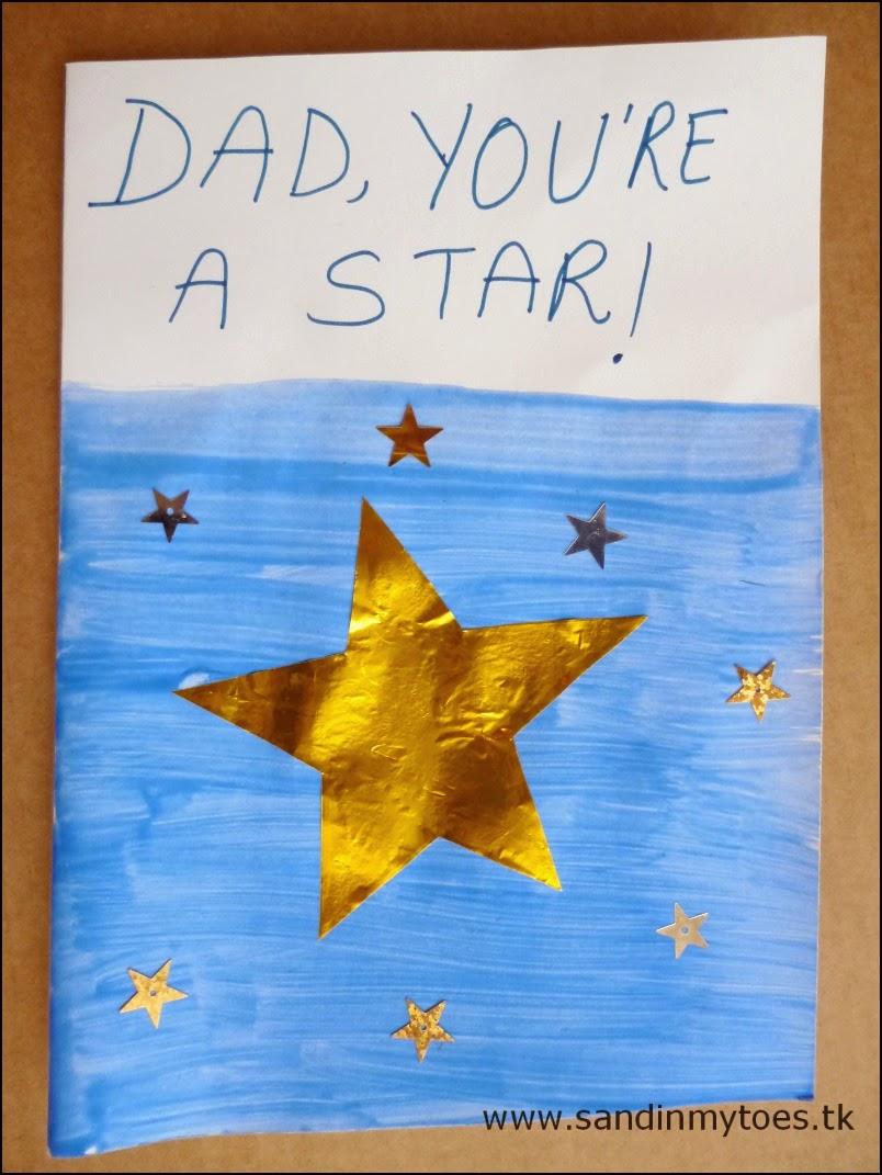 Shiny Star Card tutorial
